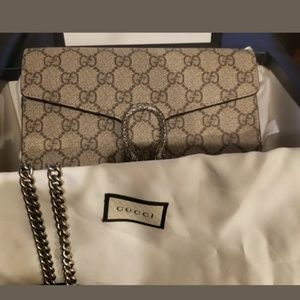 Authentic Dionysus Gucci crossover clutch